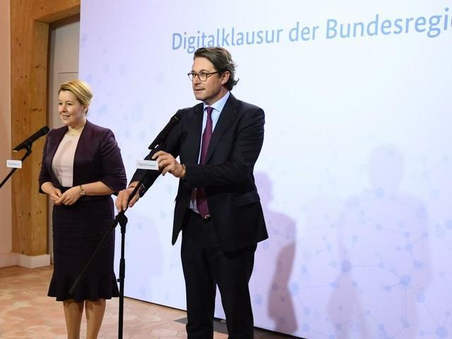 Kabinettklausur: Scheuer: Brauchen schnellere Genehmigungen für Mobilfunkausbau