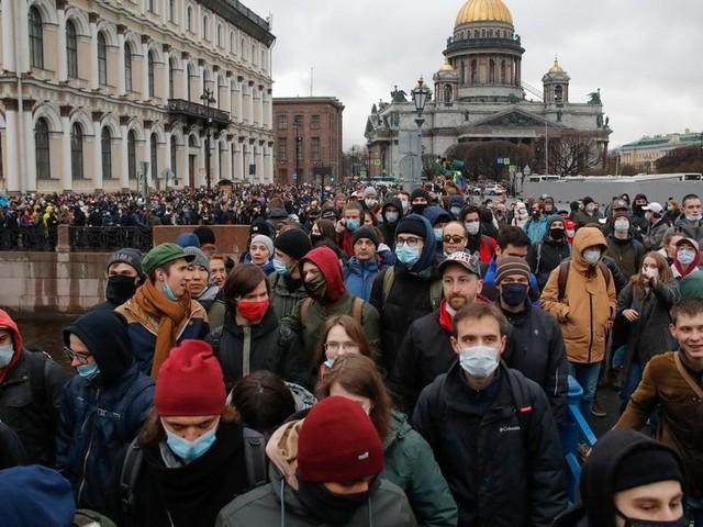 Hunderte Festnahmen bei Pro-Nawalny-Demos in Russland