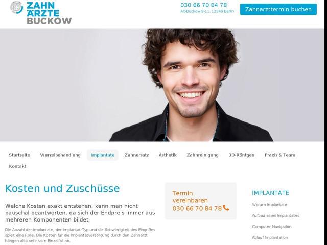 Implantat Berlin : Kosten und Zuschüsse