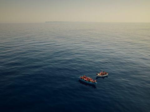 Flüchtlinge: Weitere Bootsmigranten im Mittelmeer gerettet
