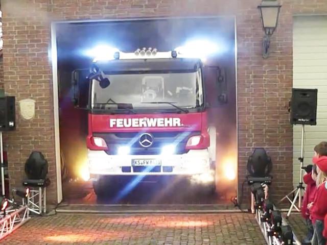Rollout – Die Freiwillige Feuerwehr Kassel rollt das Fass raus