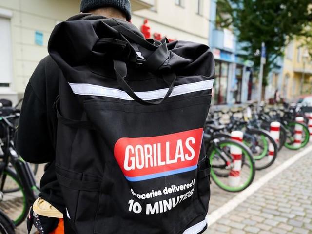 Gorillas-Fahrer Lupin nimmt die 10-Minuten-Regel sportlich