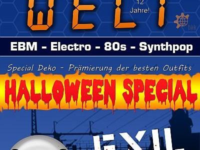 12 Jahre Klangwelt Party mit Halloween Special am 27.10.2017 [EXIL Göttingen]