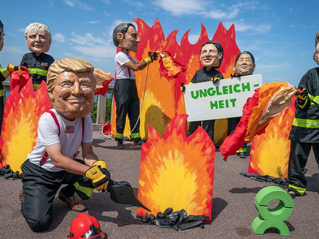 G7-Gipfel inBiarritz: Trump plant Treffen mit Merkel und hat viel Kritik im Gepäck