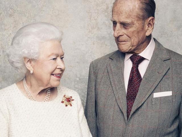Queen Elizabeth II. und Prinz Philip feiern Gnadenhochzeit
