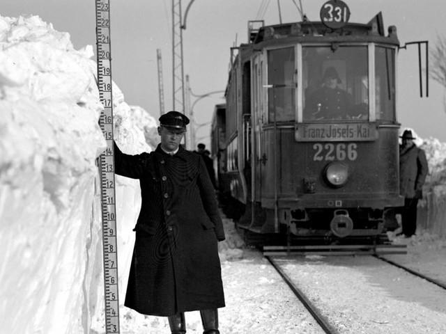 Schnee von gestern: Wie Wiener Winter früher waren