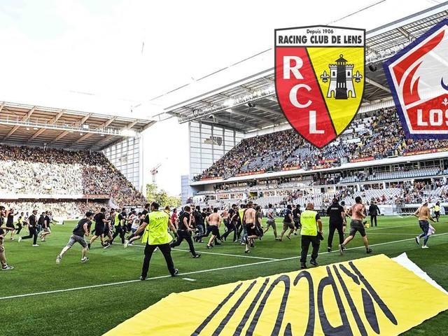 Fans stürmen Platz: Ligue-1-Partie zwischen Lens und Lille lange unterbrochen