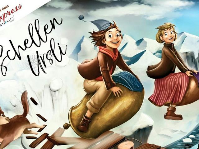 """Neues Coastiality-Erlebnis im Europa-Park: Schellen-Ursli auf dem """"Alpenexpress"""""""