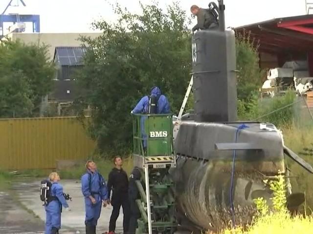 Suche nach Schwedin Kim Wall: U-Boot gehoben