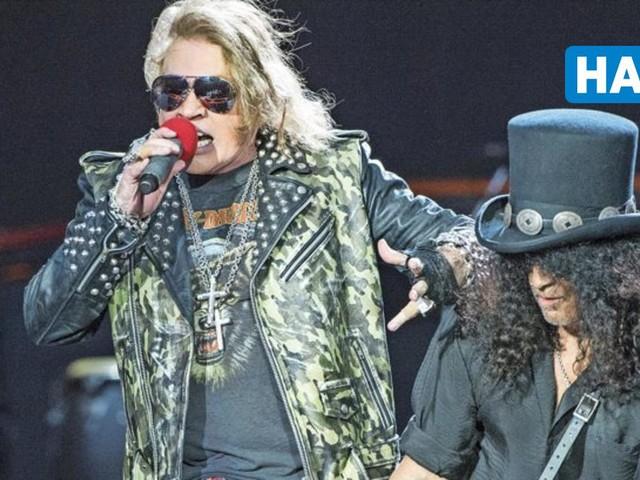 Guns N'Roses spielen 2022 in der HDI-Arena