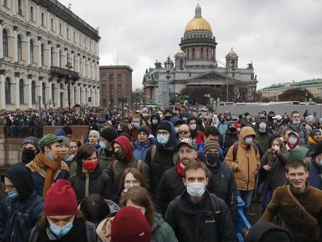 Kremlkritiker: Hunderte Festnahmen bei Pro-Nawalny-Demos in Russland