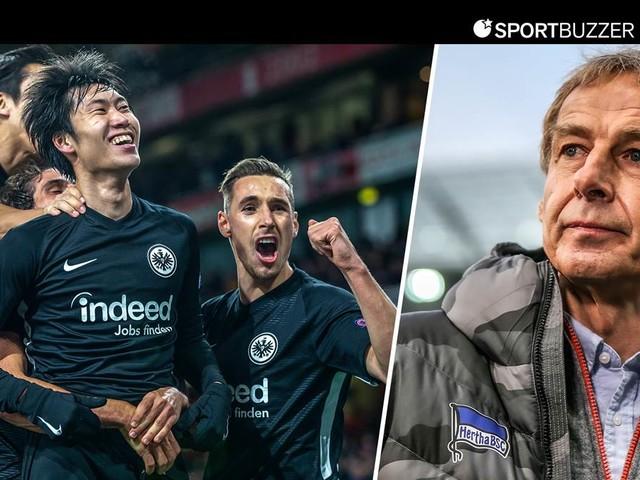 Bundesliga im Liveticker: Frankfurt empfängt Klinsmann-Team Hertha BSC