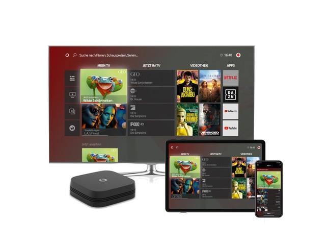 Vodafone GigaTV: 1 Jahr kostenlos im 3-Play-Paket
