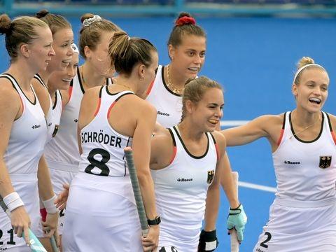 Olympia - Erst Gewitter, dann Sieg: Hockey-Damen überzeugen