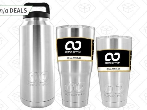 Keep Your Drinks Cold (or Hot) All Day Long With This One-Day Tumbler Sale