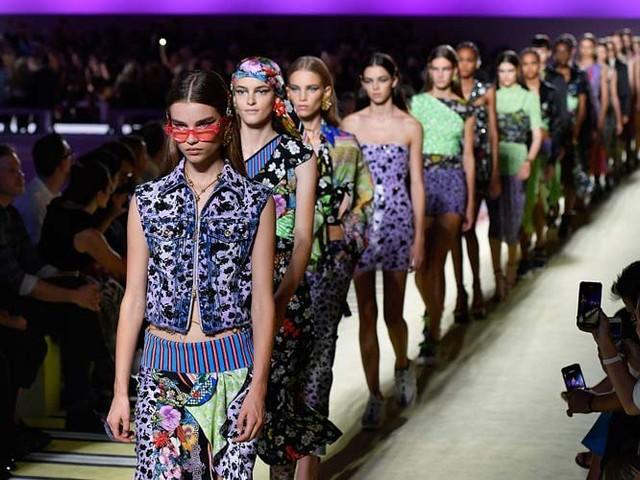 Mailänder Modewoche mit Mustermix und Dadaismus