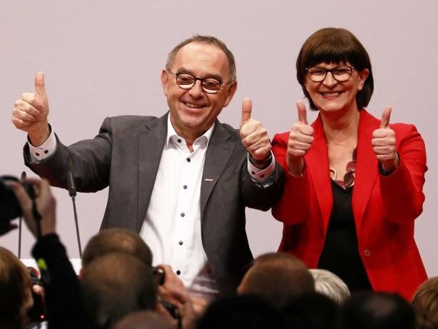 SPD-Parteitag: SPD-Newsblog: Scholz will neues Führungsduo unterstützen