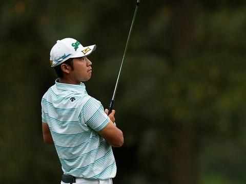 Golf in Augusta - 85. Masters: Japaner Matsuyama nach Traumrunde vorn