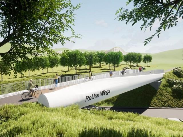 Wie Windkraft einer Brücke Flügel verleiht