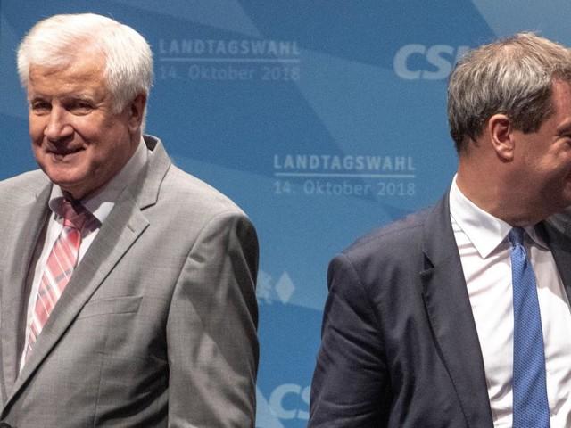 Söder nicht weg, Seehofer nicht weg, Merkel nicht weg