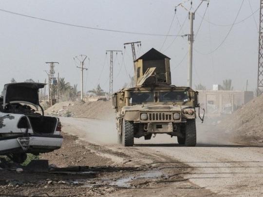 Nordsyrien - Kurdische Milizen setzen laut SDF Einsätze gegen den IS aus