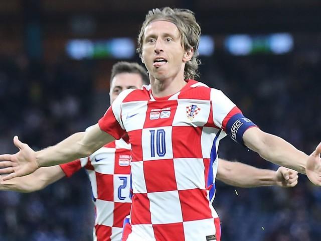 EM 2021: Sieg gegen Schottland - Luka Modric führt Kroatien ins Achtelfinale