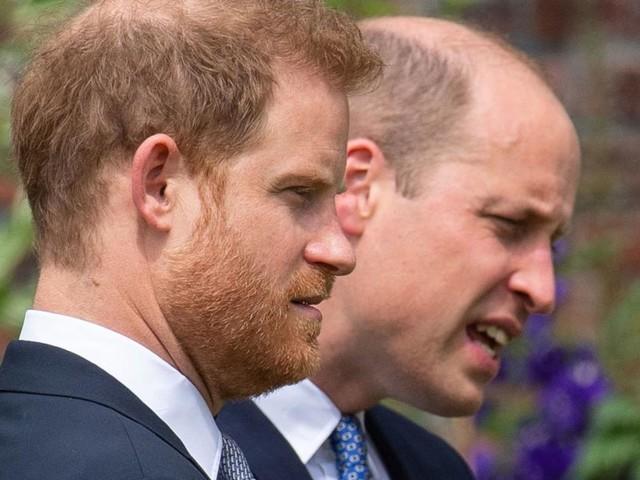 Wie Prinz William seinen Bruder Harry an die Presse verraten haben soll