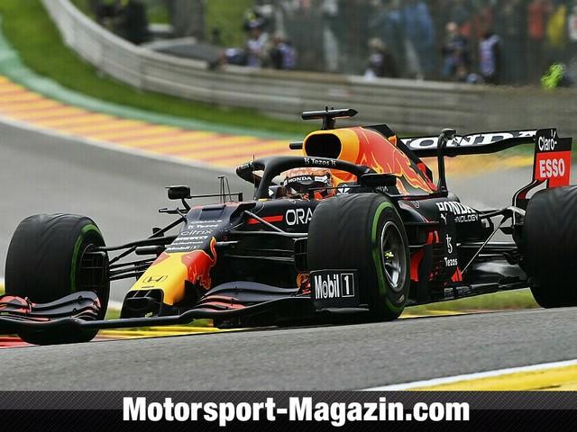 Formel 1 Spa, Red Bull dominiert nasse Qualifying-Generalprobe