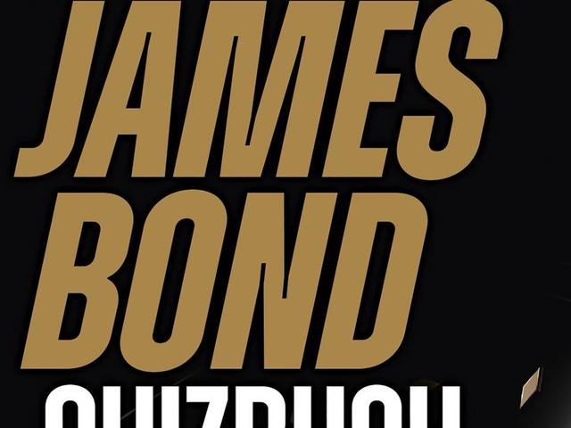 """""""Keine Zeit zu sterben"""" ab 30. September im Kino: Buch-Tipp: James Bond für Angeber"""