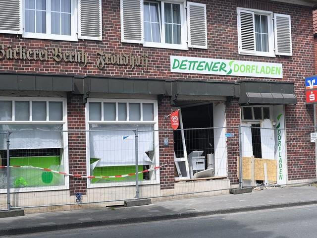15.000 Euro für den Wiederaufbau des Dettener Dorfladens