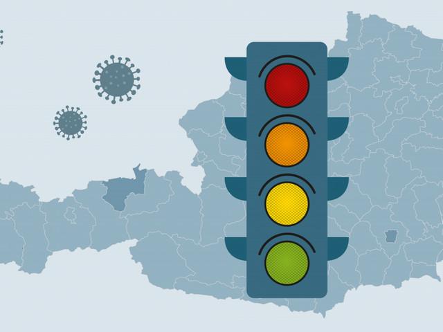 Corona-Ampel: Wien als einziges Bundesland orange