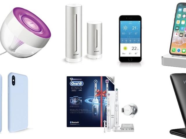 Amazon Last Minute Angebote: Philips Hue, Netatmo Wetterstationen, iPhone X Panzerglas, Powerbanks, USB-Ladegeräte, Kopfhörer und mehr