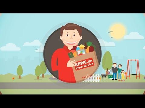 Online einkaufen beim REWE Lieferservice: So geht's!