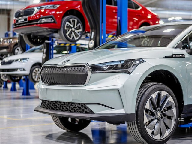 Halbleitermangel: Volkswagen-Marke Skoda drosselt Produktion