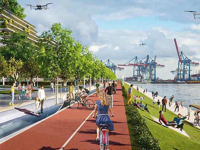 ITS-Weltkongress Hamburg 2021: Zukunftsvision, Straßen. Stadtverkehr Sieht so die Straße der Zukunft aus?