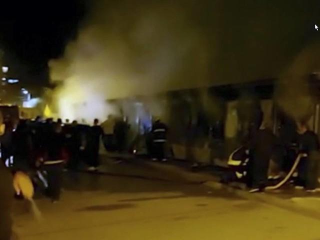 Covid-Krankenhaus in Nordmazedonien brennt: Mindestens zehn Tote