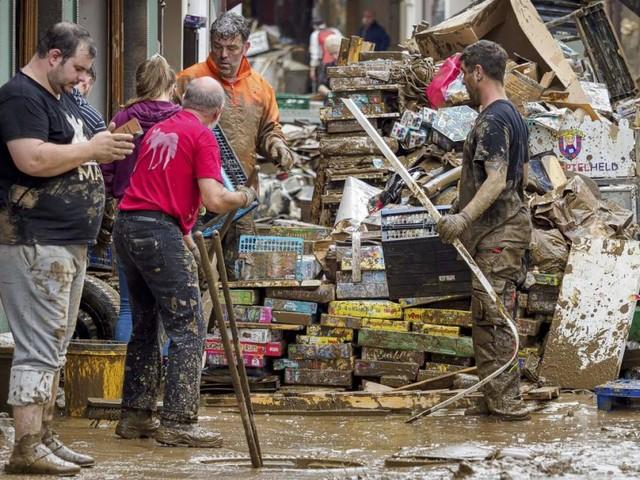 """Flut in Deutschland: """"Keine Obergrenze"""" bei Hilfsgeldern"""