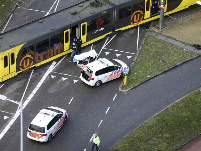 Drei Tote bei Attacke in Utrecht - mutmaßlicher Schütze nach Flucht festgenommen