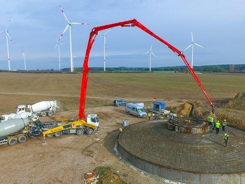 """Klimawandel - """"Zugpferd"""" der Energiewende: Windräder für den Klimaschutz"""