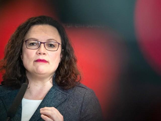 Rücktritt: Nahles zieht die Notbremse