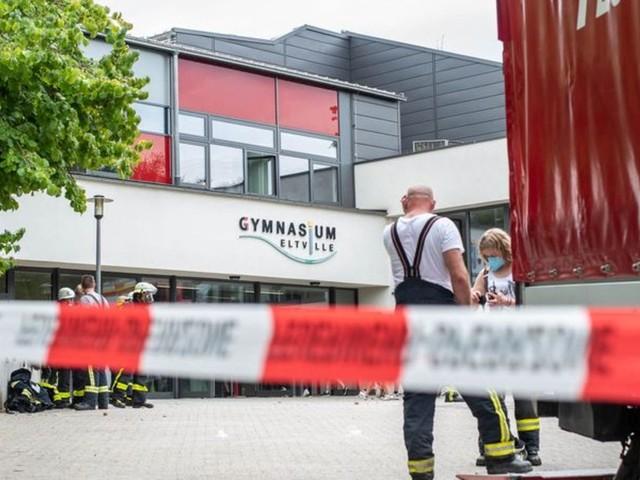 Dutzende Verletzte durch Dämpfe an Schule