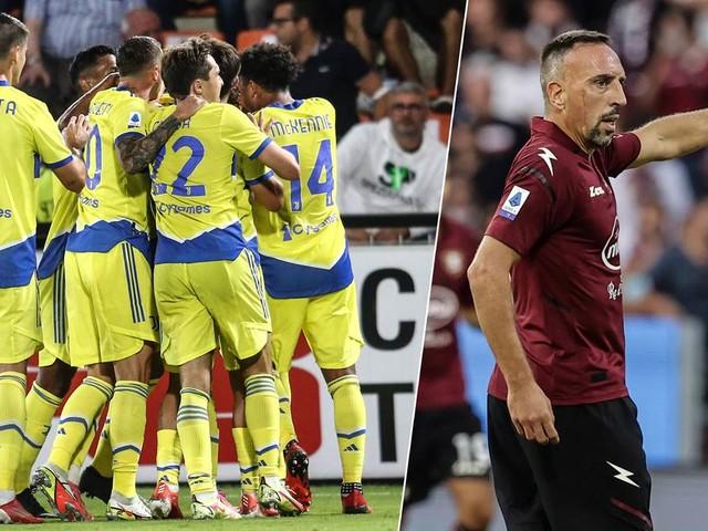 Juve landet Befreiungsschlag in der Serie A – Ribéry und Salernitana holen ersten Punkt