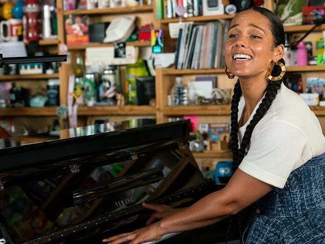 Alicia Keys Tiny Desk Concert