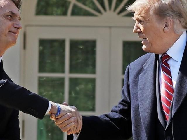"Der doppelte Trump – Bolsonaro ""bewundert"" den US-Präsidenten"