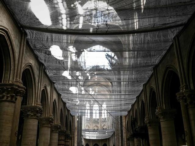 Wiederaufbau von Notre Dame: Versprochene Milliarde bleibt aus