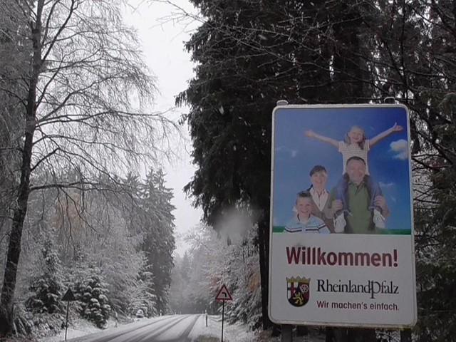 Wintereinbruch in der Region Trier (Fotos)
