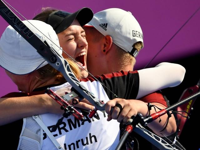 Olympia: Deutsches Frauen-Team holt Bronze im Bogenschießen