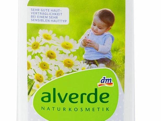 """Rückruf: dm ruft """"alverde""""-Bio-Pflegelotion für Babys zurück"""