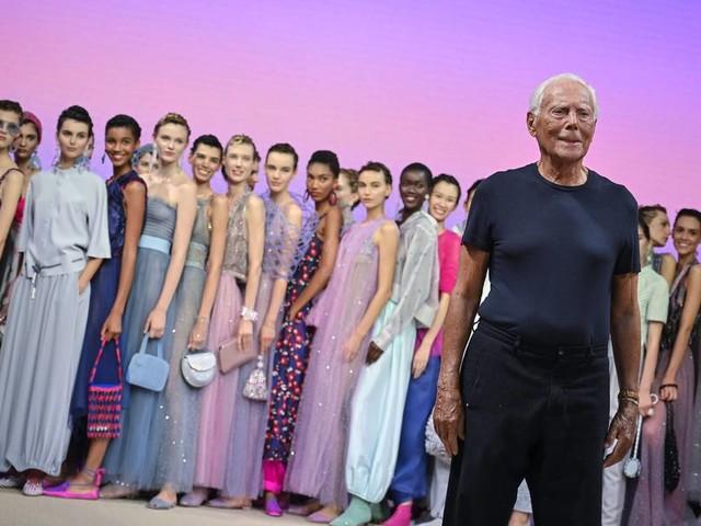 Mailänder Fashion Week: Giorgio Armanis Reise zu sich selbst