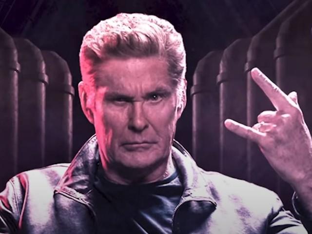 I've been looking for ... Metal: David Hasselhoff geht unter die Rocker